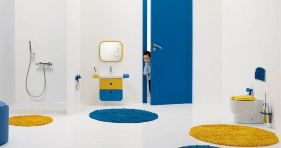 Modern Bathroom For Kids