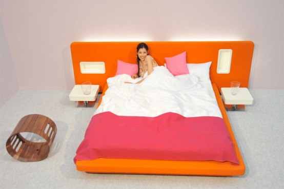 Colorful Bed Design Ideas 2011