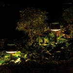 Warm Outdoor Lamps by Santa & Cole