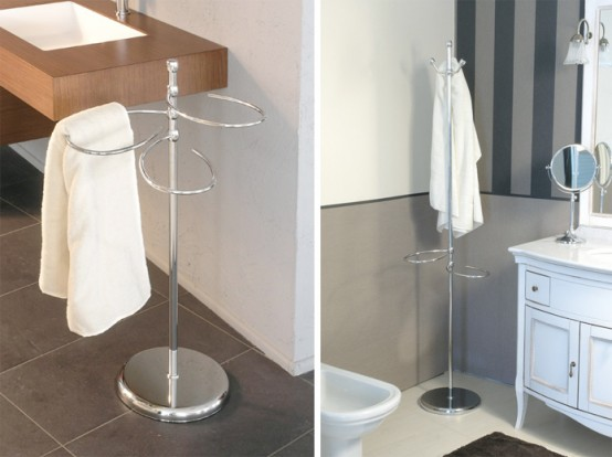 Modern Bathroom Towel Stands