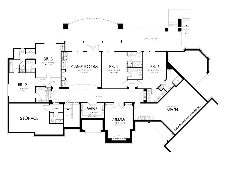 Luxury Homes Design Floor Plan