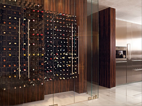 Luxury home wine cellar designs home designs project for Home wine cellar designs