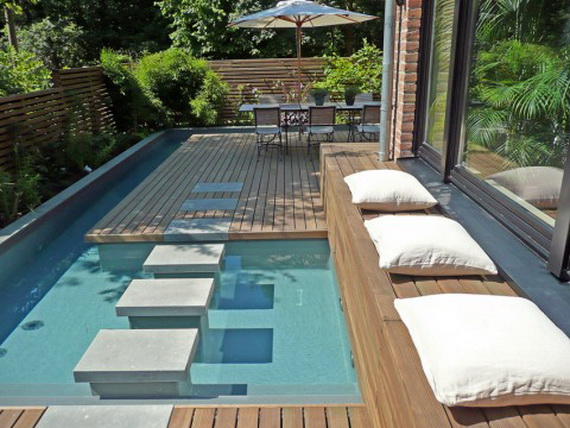 Minimalist Swimming Pool Design 2011