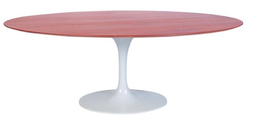 MDF Modern Round Chalmers Dining Table