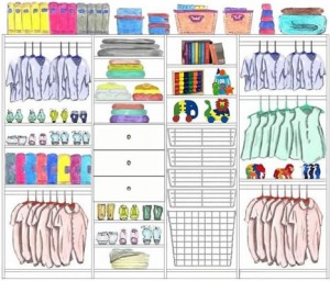 Reach In Closet Design