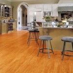 Vinyl wood look flooring