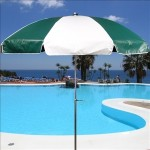 Vinyl Patio Umbrellas