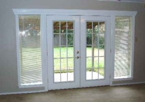 French Doors With Sidelights Interior