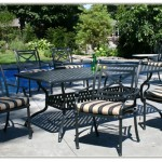 Wrought Aluminum Patio Furniture