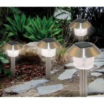 Solar Powered Yard Light