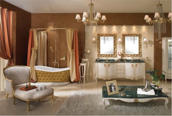 Lavish Bathroom Design