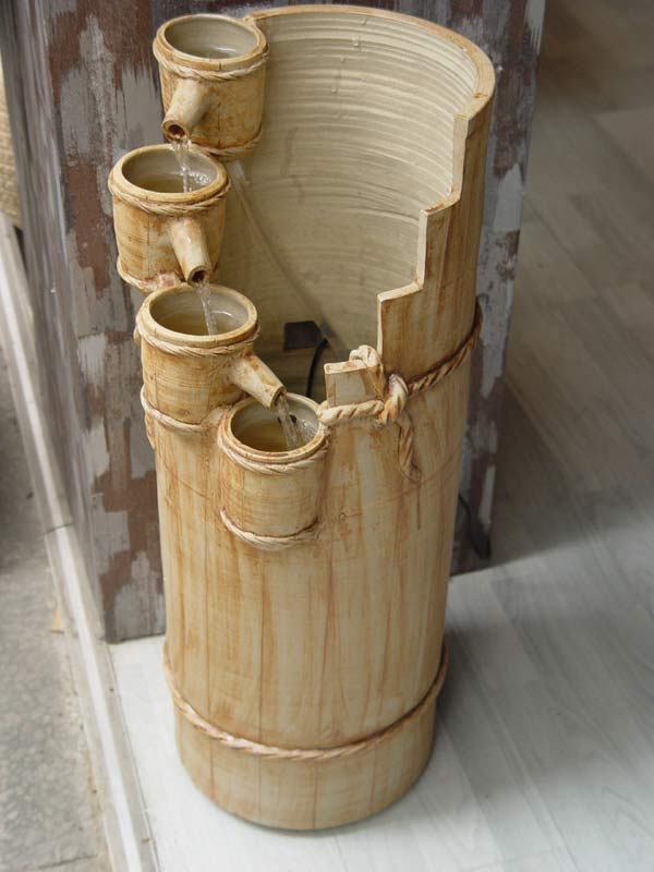 4 tier bamboo fountain