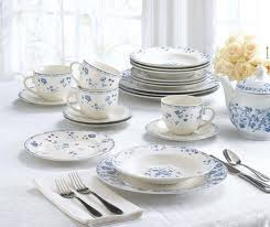 Blue and White Dinnerware Sets