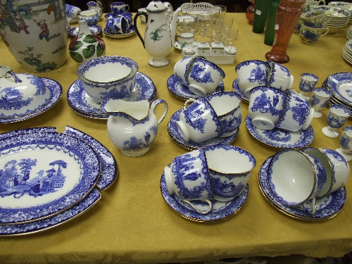 Blue and White Dinnerware UK