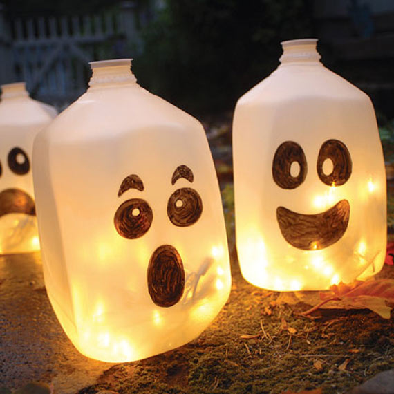 Bottles for Decorating your Garden
