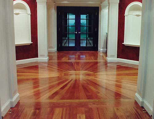 Float Wood Flooring