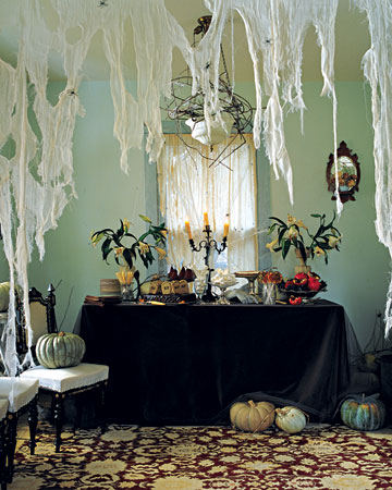 Hallowen Decorations Cheesecloth Spiderwebs