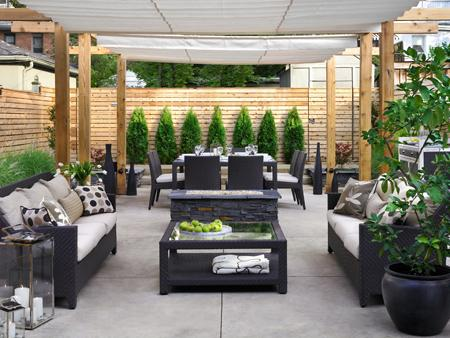 Outdoor Patio Decorations Photos