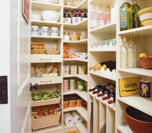Roll Out pantry storage systems