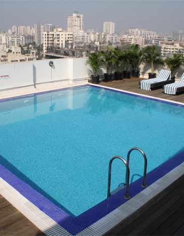 Rooftop swimming pool design ideas image