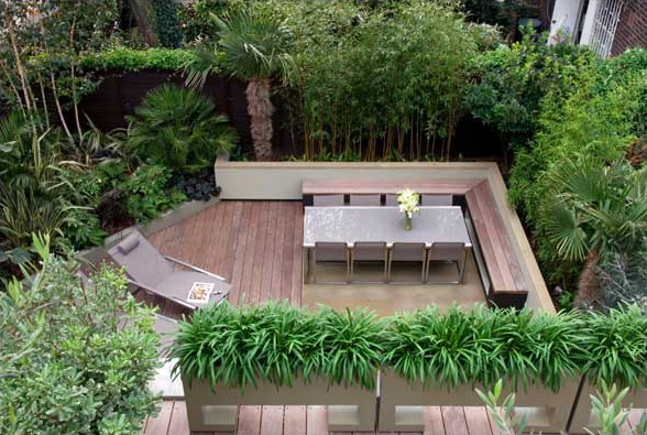 Small garden ideas design home designs project for Small backyard layout ideas
