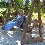 Wooden outdoor swings desings