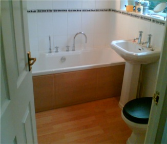 Lastest  Modern Bathroom With A Feature Grey Tiled Bath Step Inside Shower And