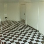 black and white vinyl flooring uk