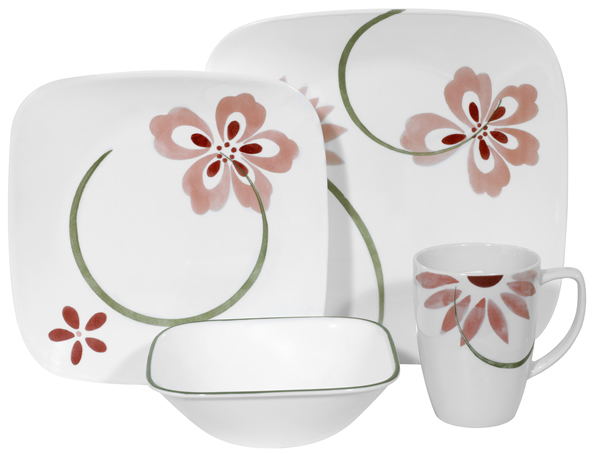 corelle dinnerware patterns set