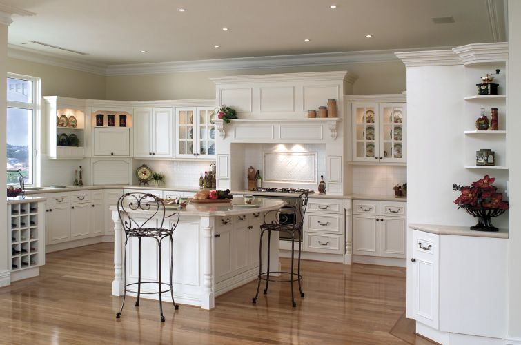 country kitchen ideas 212 Romantic French style of kitchen interior are always modern
