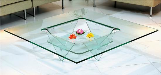 glass coffee table designs