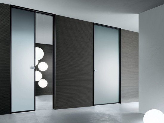 glass pocket doors interior