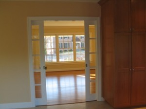 Glass pocket doors lowes home designs project - Mobile home interior doors lowes ...