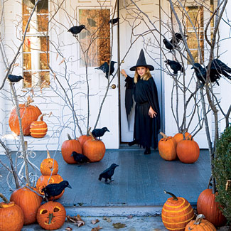 Halloween decorations ideas home designs project - Decoration halloween maison ...