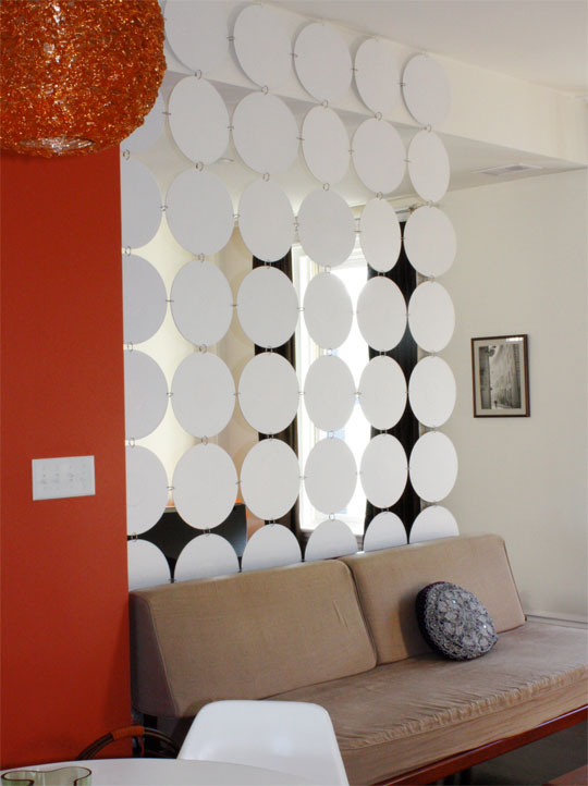 Hanging room dividers screens home designs project Decorative hanging room dividers