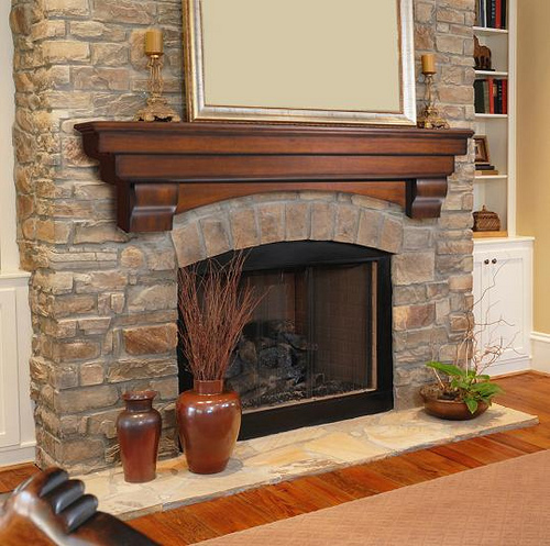 Marble fireplace surround design ideas home designs project - Stone fireplace surround ideas ...