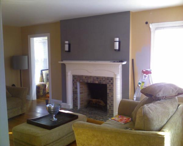 paint for marble fireplace surrounds