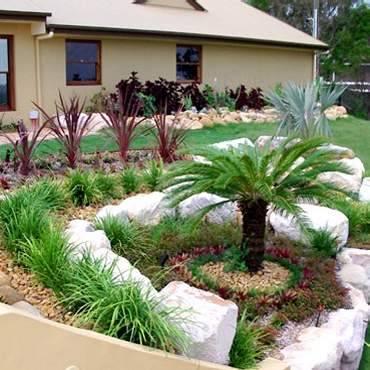 rock garden designs pictures
