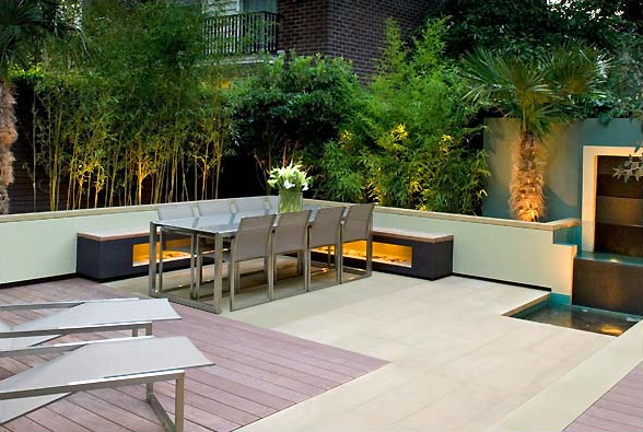 Modern House Beautiful Terrace And Landscape Garden Design Ideas Uk Small Garden Ideas Design Photo Small Garden