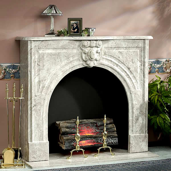 victorian marble fireplace surround