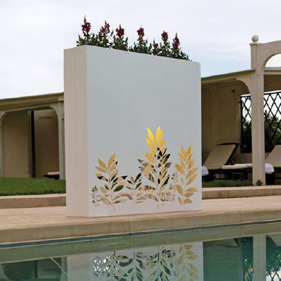 wall flower pots design ideas