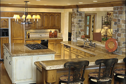 Kitchen cooking islands design