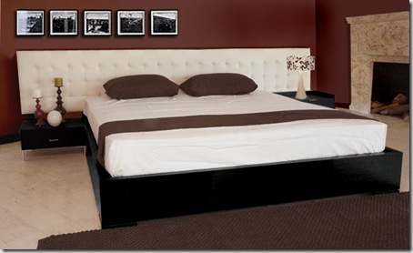 black contemporary bedroom furniture