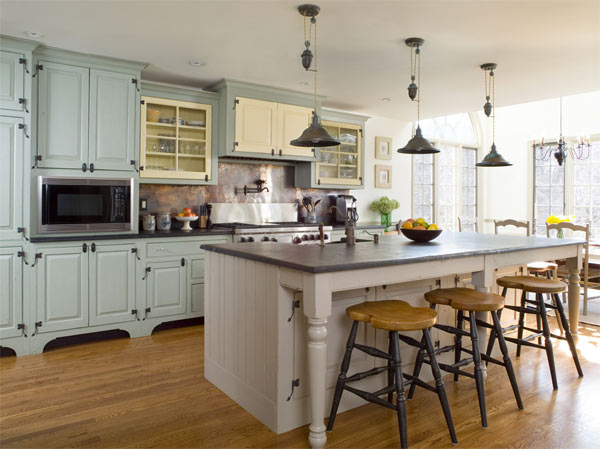 Country kitchen designs home country kitchen designs for Parisian style kitchen ideas