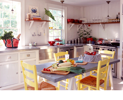 Country kitchen designs for small kitchens home designs for Small country kitchen