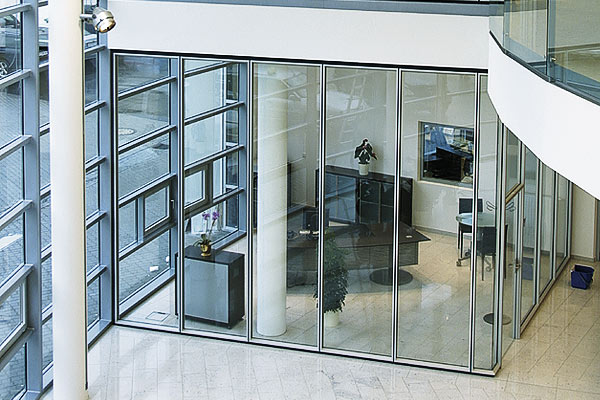 glass partition walls for home