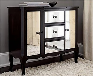 hayworth mirrored bedroom furniture collection  Home Designs Project