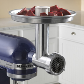 kitchenaid mixer attachments meat grinder