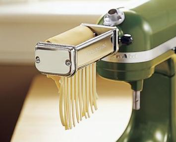 kitchenaid mixer attachments pasta roller