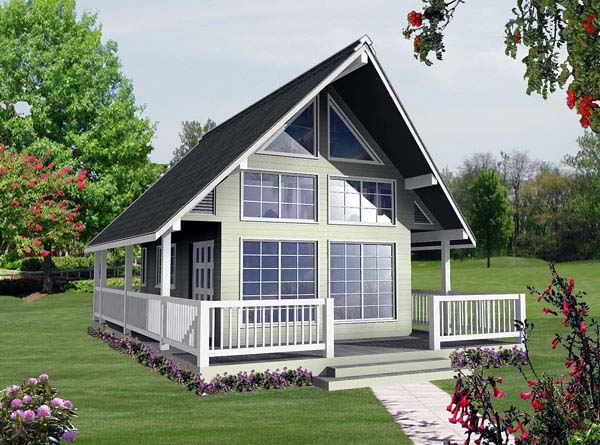 1 bedroom cottage plan with loft home plans over 26000